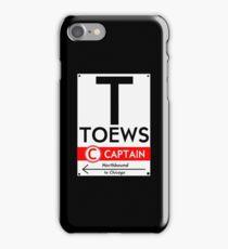 Toews Phone Case (Black)  iPhone Case/Skin
