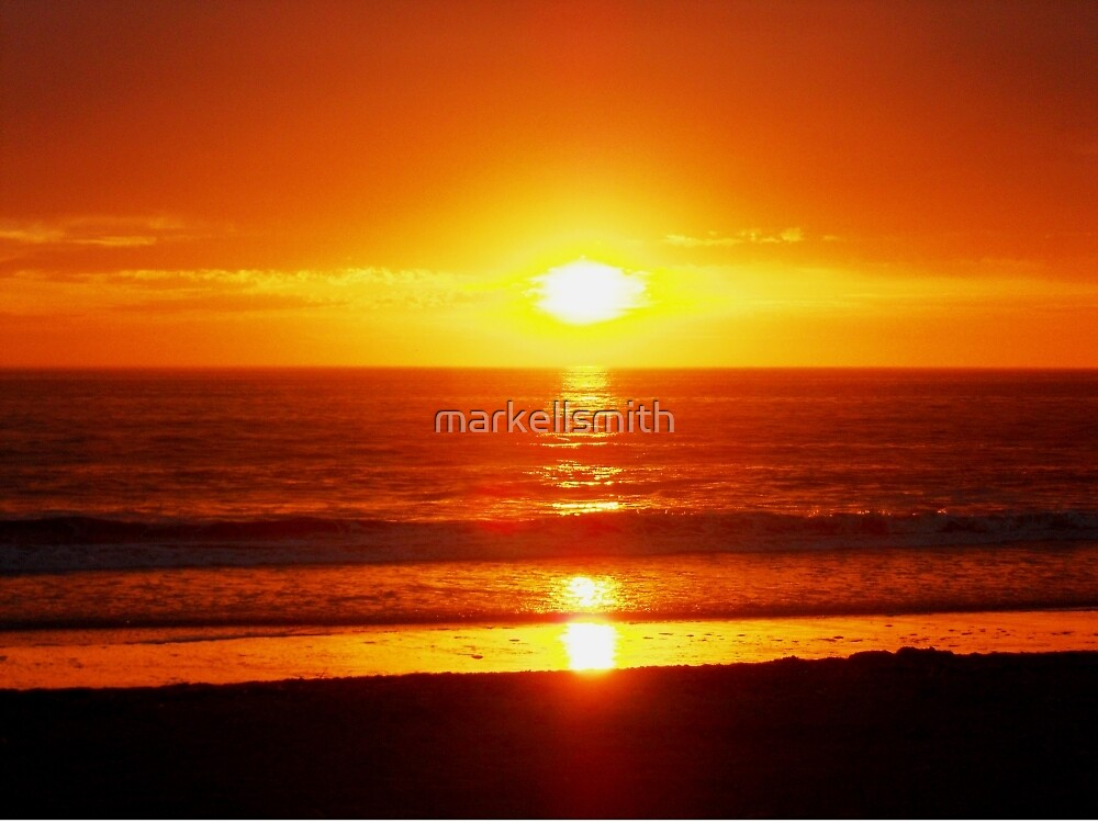 California Sunset by markellsmith