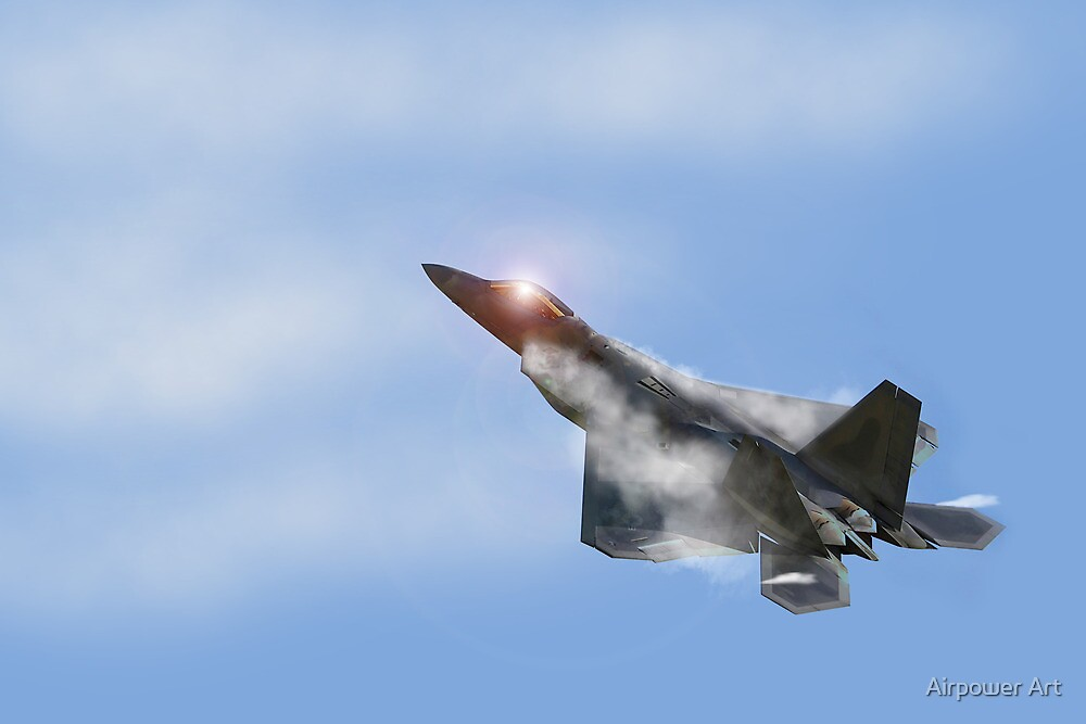 Raptor Vapour by Airpower Art