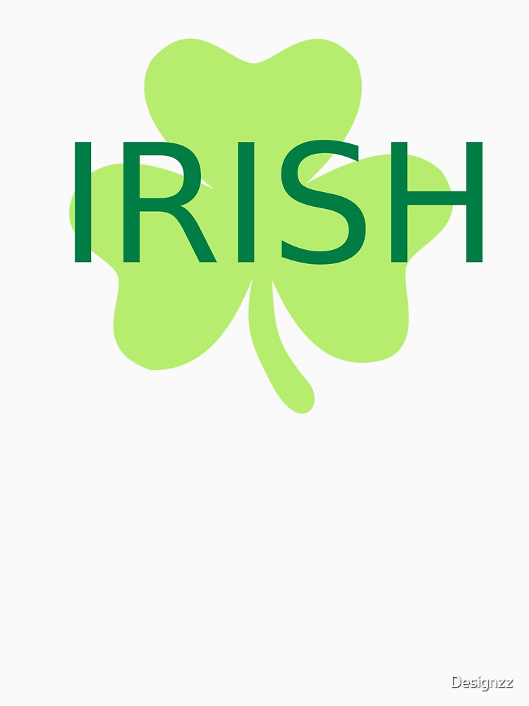 Green irish shamrock by Designzz
