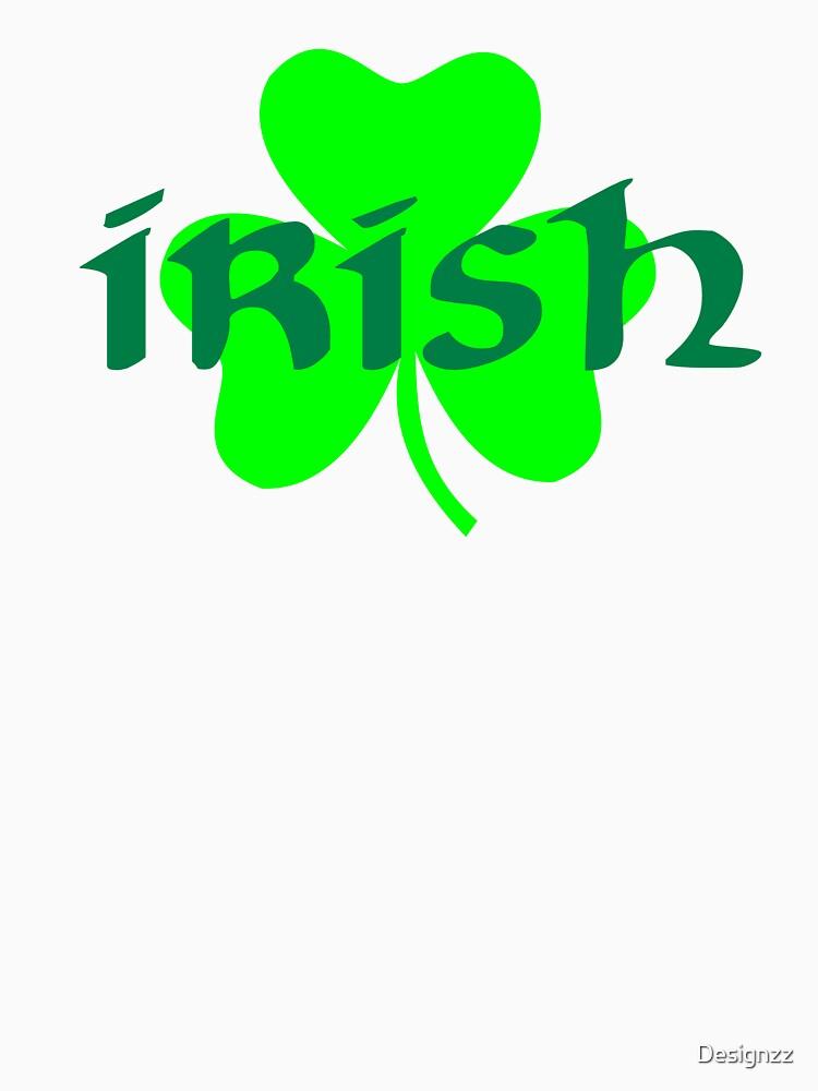 Irish shamrock St. Patricks day by Designzz