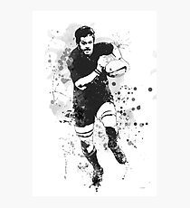 Rugby Player Photographic Print