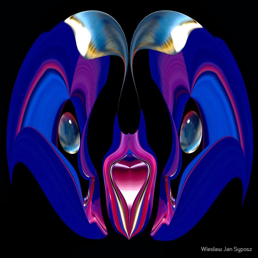cute & blue  by Wieslaw Jan Syposz