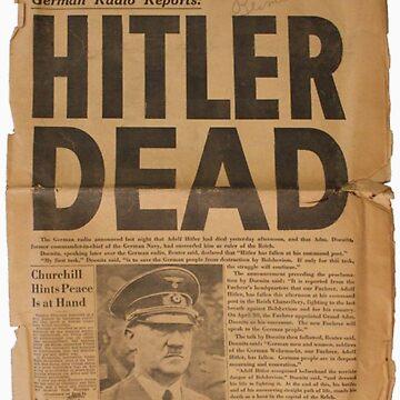 Hitler Dead! by Amrali