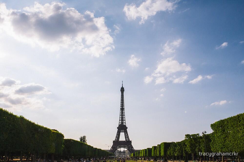 Eiffel Tower France by tracygrahamcrkr