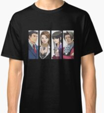 Ace Attorney Panels Classic T-Shirt