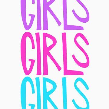 Girls Girls Girls by larynanne