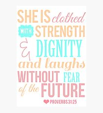 Proverbs 31 Photographic Print