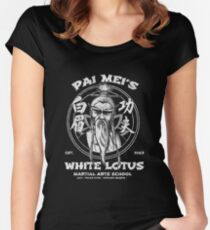White Lotus Women's Fitted Scoop T-Shirt