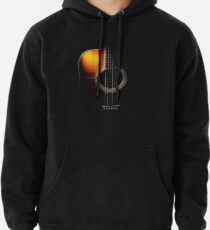 Colour Acoustic Guitar Hi-Lite Pullover Hoodie