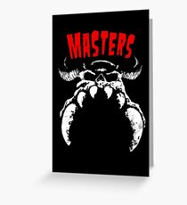 MASTERS 777 Greeting Card
