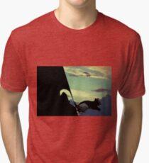 black squirrel  Tri-blend T-Shirt