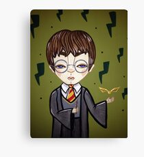 Young Potter Canvas Print