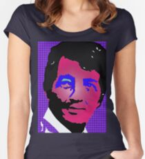 Dean Martin in living color Women's Fitted Scoop T-Shirt