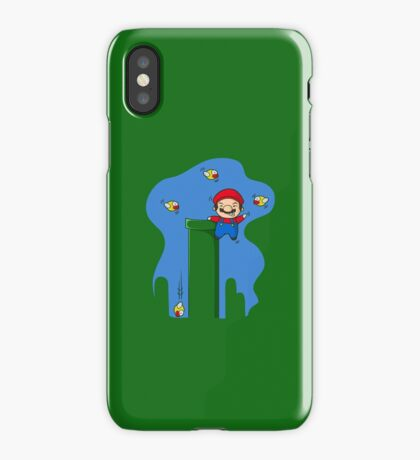 Stay away from my pipes  iPhone Case/Skin