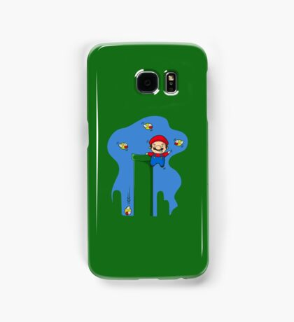Stay away from my pipes  Samsung Galaxy Case/Skin