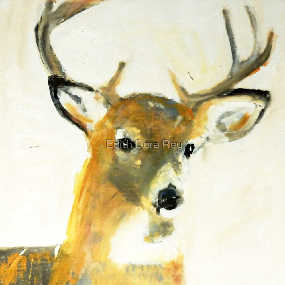 Oh, Deer! #5, 2015 by Edith Dora Rey