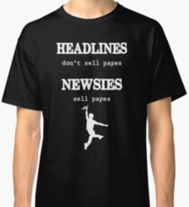 Newsies Sell Papes Classic T-Shirt