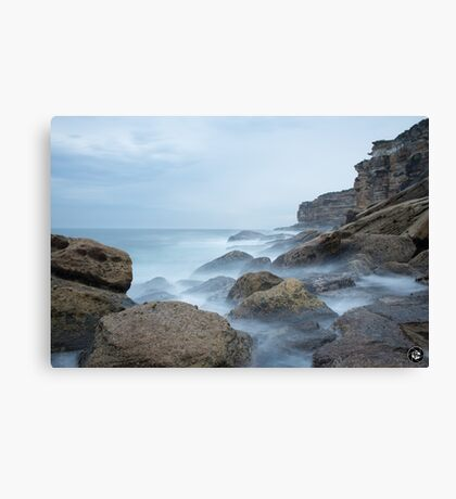 Coast Line Canvas Print