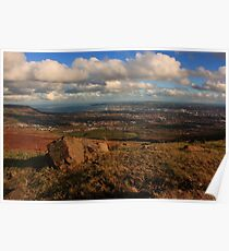 Belfast From Divis Mountain Poster