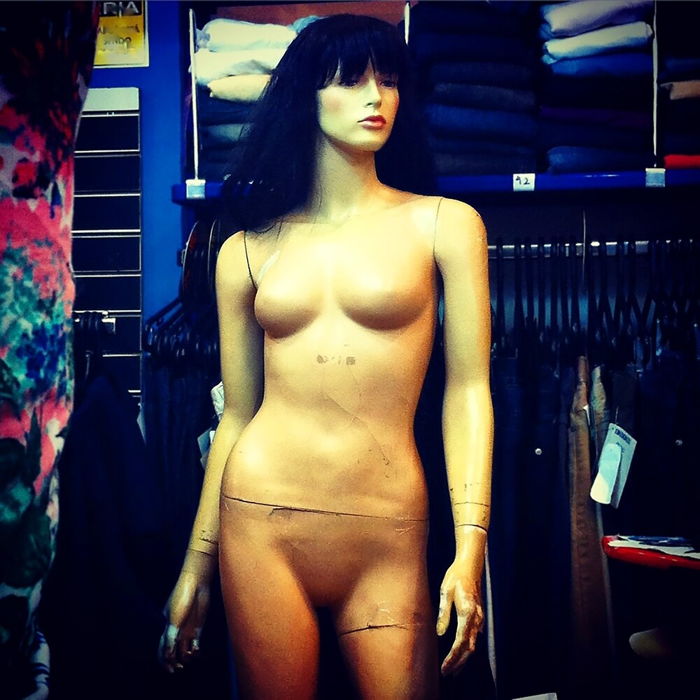 mannequin series by Claudio Pepper