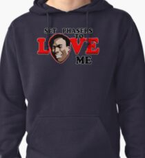 Set Phasers to Love Pullover Hoodie