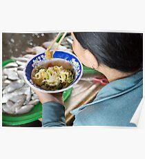 food bowl Poster