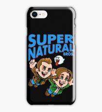 Super Natural Bros iPhone Case/Skin