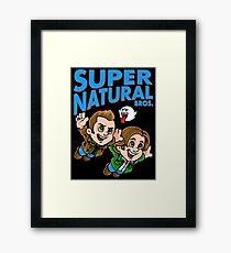 Super Natural Bros Framed Print