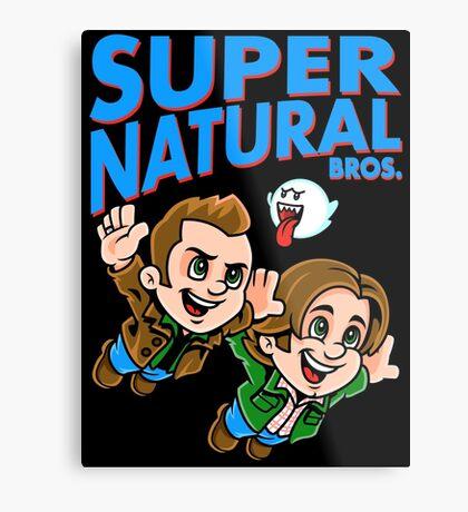 Super Natural Bros Metal Print