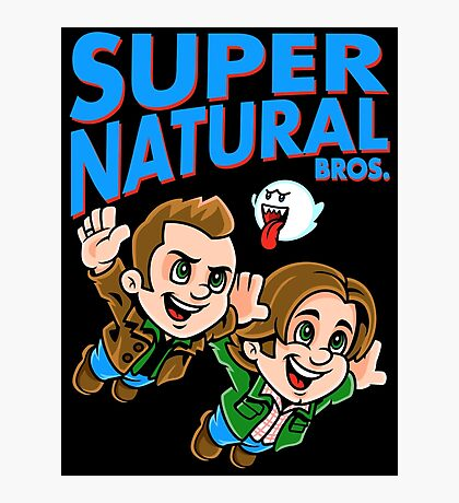 Super Natural Bros Photographic Print