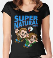 Super Natural Bros Fitted Scoop T-Shirt