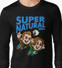 Super Natural Bros Long Sleeve T-Shirt
