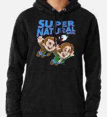 Super Natural Bros Pullover Hoodie