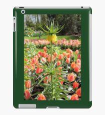 Upside down tulip. iPad Case/Skin