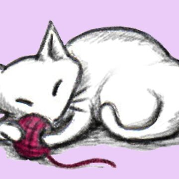 Yarn Kitty - lilac edition de sophielk