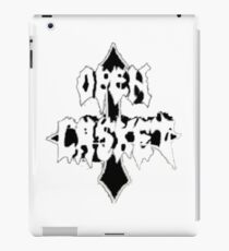 Open Casket iPad Case/Skin