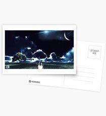 A Midnight Walk Postcards
