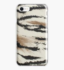 Tiger skin artificial pattern  iPhone Case/Skin