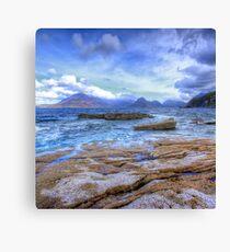 Elgol, Isle of Skye Canvas Print