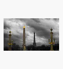 Paris Columns Photographic Print