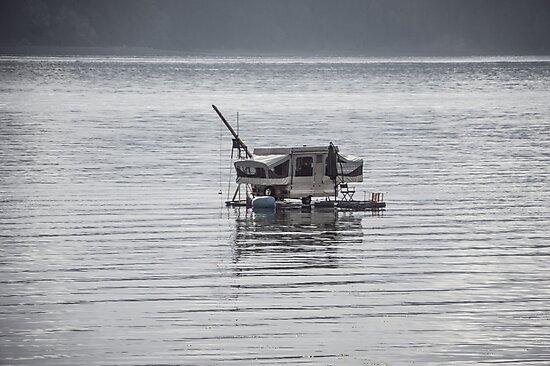 house/boat/trailer by Brent Olson