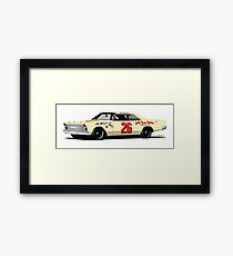 1966 Junior Johnson Ford Galaxie Framed Print