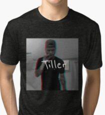 """""""Tiller"""" 3D Graphic Tri-blend T-Shirt"""