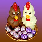 Easter chocolats by Arie Koene