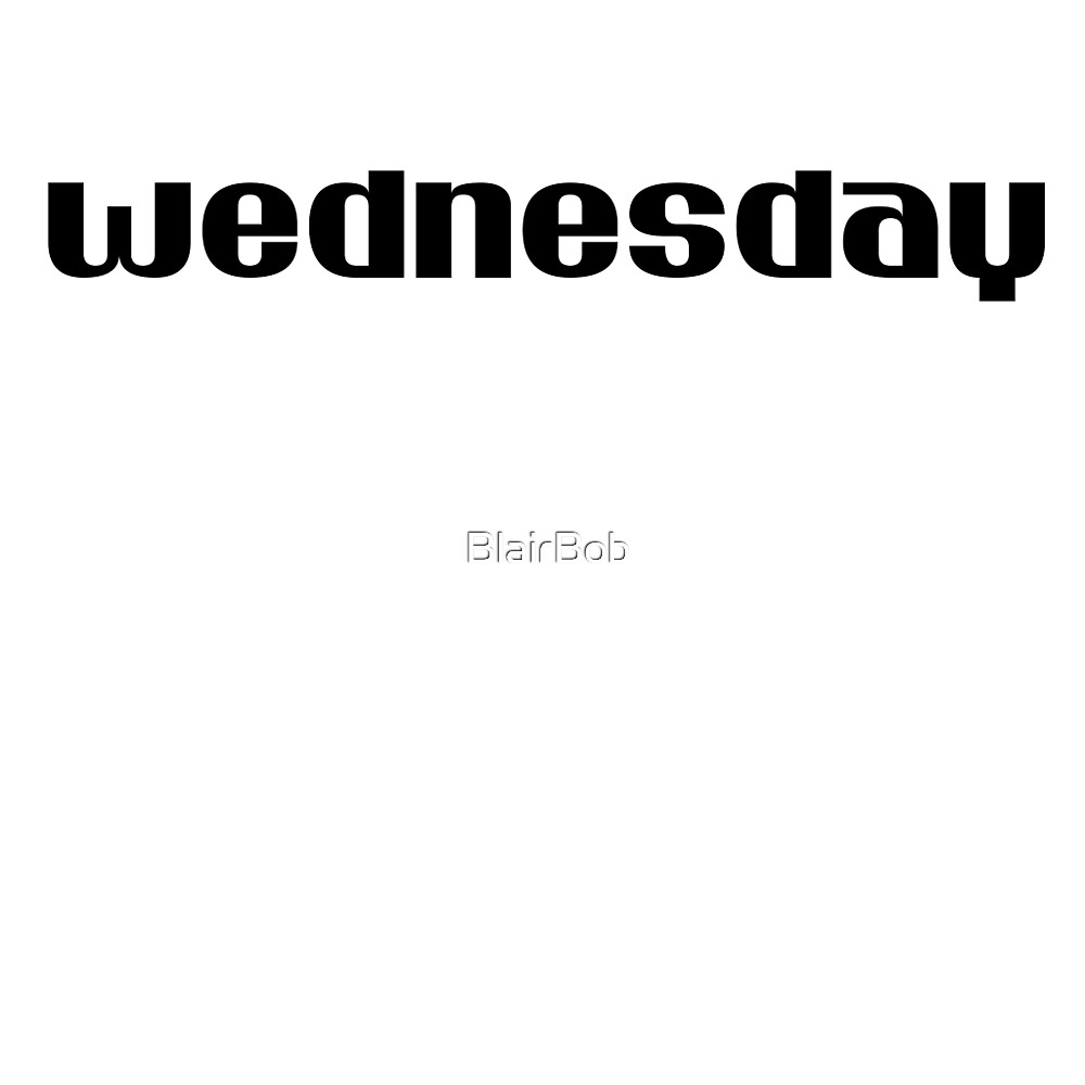 Wednesday by BlairBob