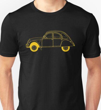 Yellow Citroën 2CV T-Shirt