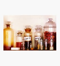 Pharmacy - The wizards pantry Photographic Print