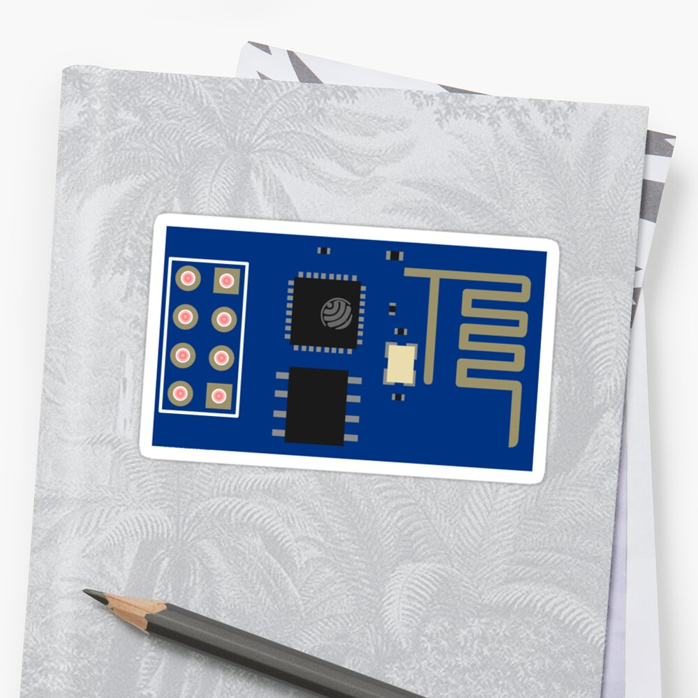 ESP8266 ESP-01 by thomasesmith
