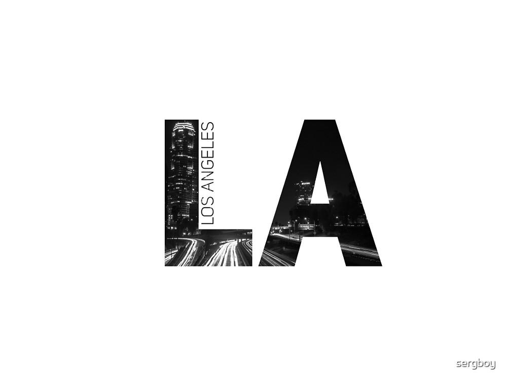 LA Print by sergboy